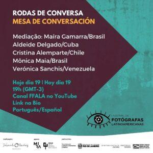 Rodas de Conversa – I Festival de Fotógrafas Latinoamericanas
