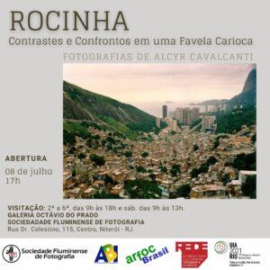 Exposição Fotográfica Rocinha: contrastes e confrontos em uma favela carioca